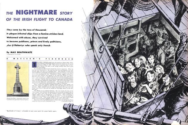 THE NIGHTMARE STORY OF THE IRISH FLIGHT TO CANADA