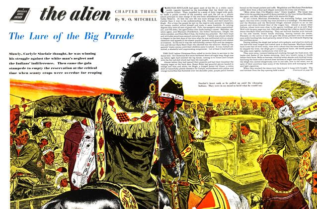 the alian CHAPTER THREE The Lure of the Big Parade