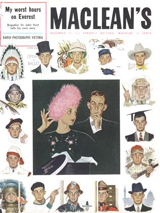 Cover for the November 15 1953 issue