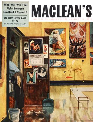 Cover for the January 15 1954 issue