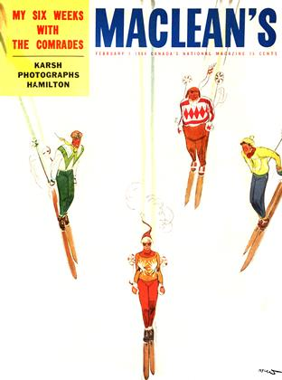 Cover for the February 1 1954 issue