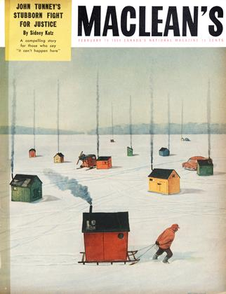 Cover for the February 15 1954 issue