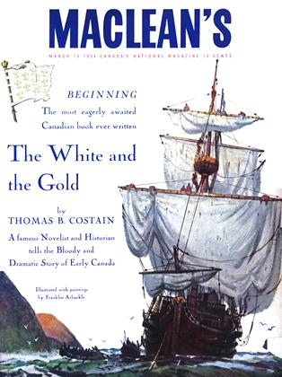 Cover for the March 15 1954 issue