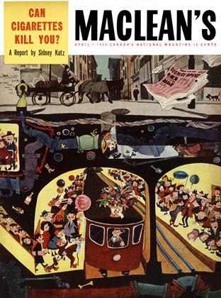 Cover for the April 1 1954 issue