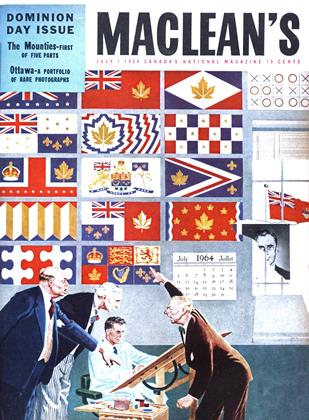 Cover for the July 1 1954 issue