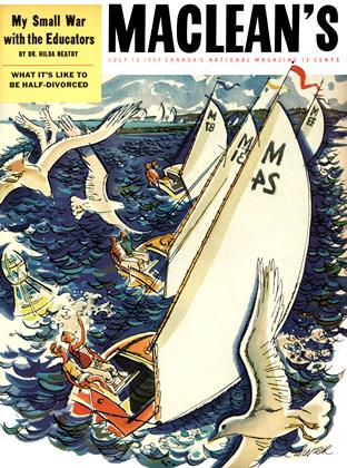 Cover for the July 15 1954 issue