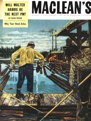 Cover for the August 15 1954 issue