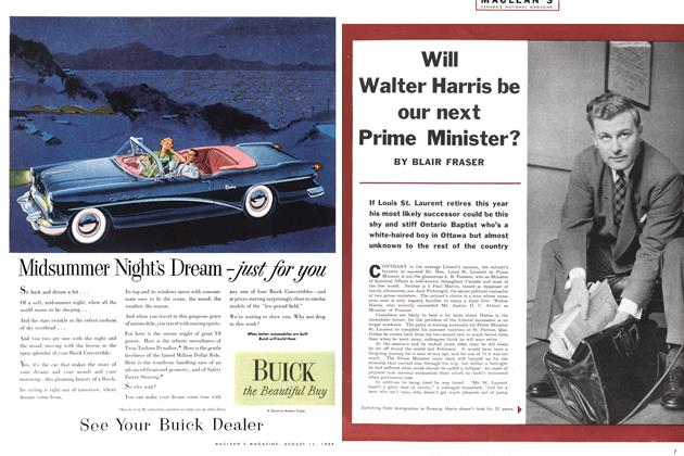 Will Walter Harris be our next Prime Minister?