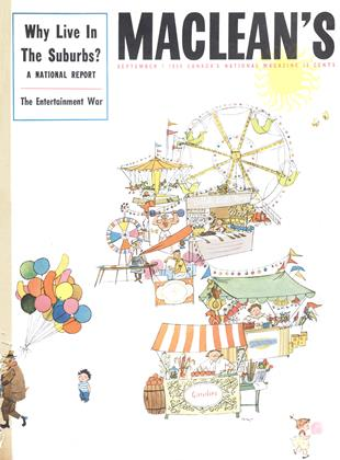 Cover for the September 1 1954 issue