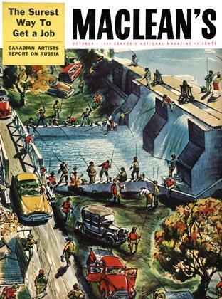 Cover for the October 1 1954 issue