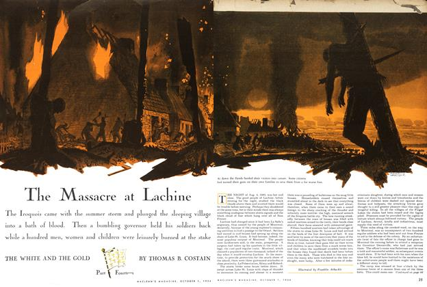 The Massacre at Lachine