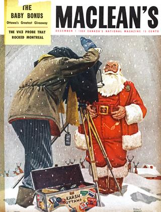Cover for the December 1 1954 issue