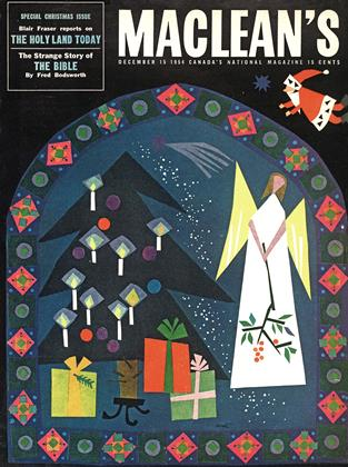Cover for the December 15 1954 issue