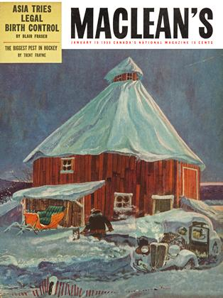 Cover for the January 15 1955 issue