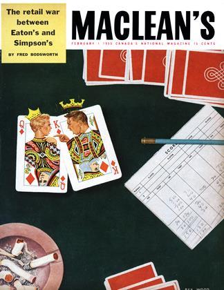 FEBRUARY 1 1955 | Maclean's