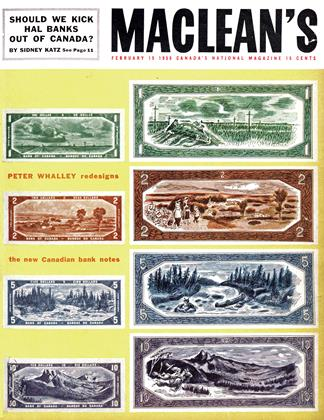 Cover for the February 15 1955 issue