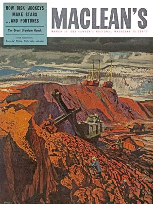 Cover for the March 19 1955 issue