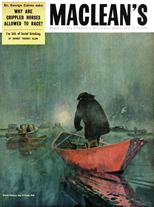 Cover for the April 2 1955 issue