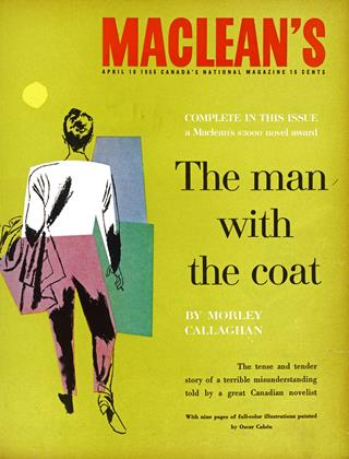 Cover for the April 16 1955 issue