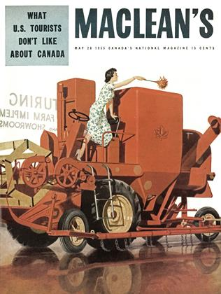 Cover for the May 28 1955 issue