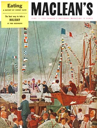 Cover for the June 11 1955 issue