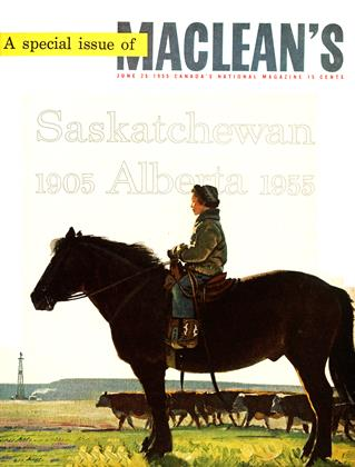 Cover for the June 25 1955 issue
