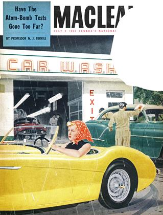 Cover for the July 9 1955 issue