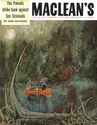 Cover for the July 23 1955 issue