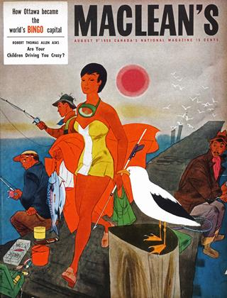 Cover for the August 6 1955 issue