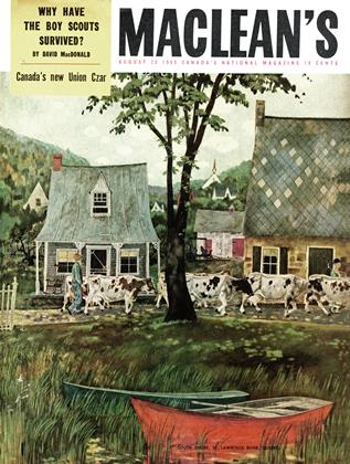 Cover for the August 20 1955 issue