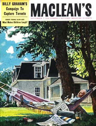 Cover for the September 3 1955 issue