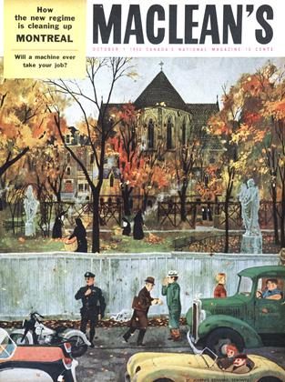 Cover for the October 1 1955 issue