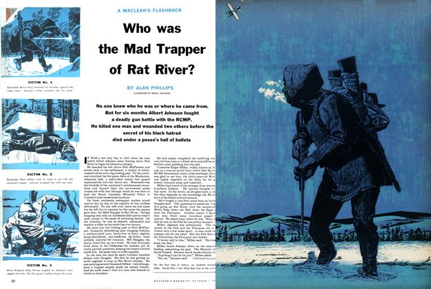 Who was the Mad Trapper of Rat River?