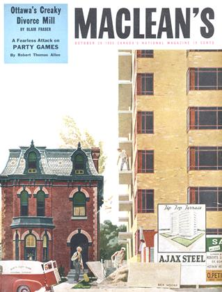Cover for the October 29 1955 issue