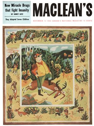 Cover for the November 12 1955 issue