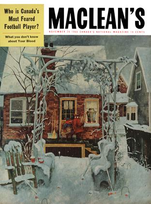 Cover for the November 26 1955 issue