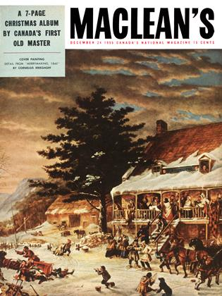 Cover for the December 24 1955 issue