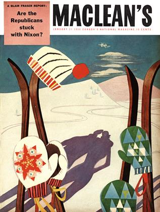 Cover for the January 21 1956 issue
