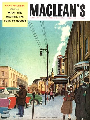 Cover for the February 4 1956 issue