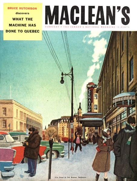 Issue: - February 1956 | Maclean's