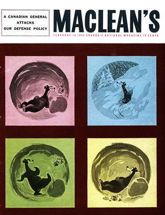 Cover for the February 18 1956 issue