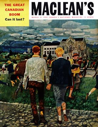 Cover for the March 31 1956 issue