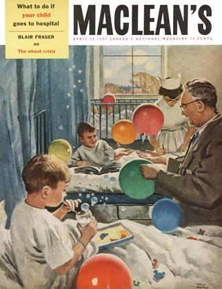 Cover for the April 28 1956 issue