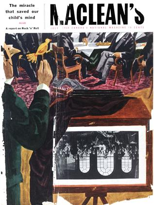 Cover for the July 7 1956 issue