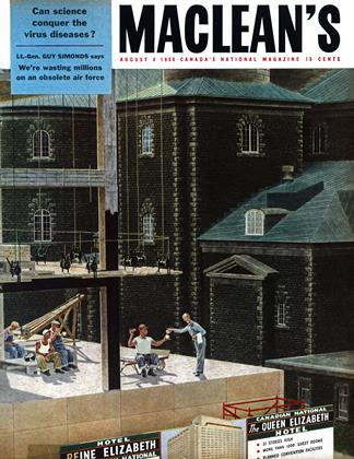 Cover for the August 4 1956 issue