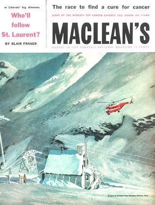 Cover for the August 18 1956 issue