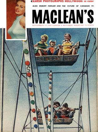 Cover for the September 15 1956 issue
