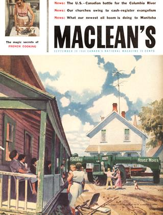 Cover for the September 29 1956 issue