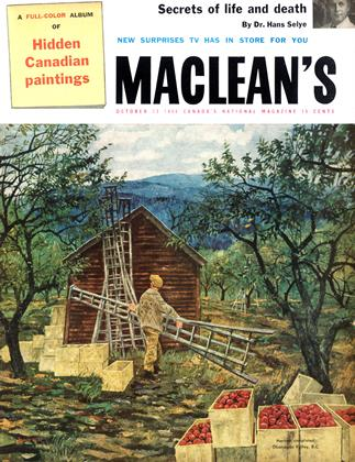 Cover for the October 13 1956 issue