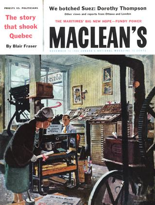 Cover for the November 10 1956 issue